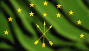 Государственный флаг Республики Адыгея