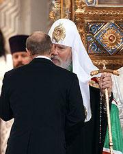 Поездку патриарха в Страсбург инициировал Кремль?