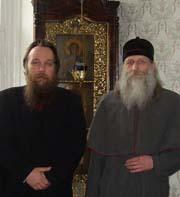 Встреча А.Дугина и Митрополита РПСЦ Андриана