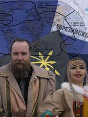 Одним из главных идеологов нового евразийства стал Александр Дугин - создатель современной российской школы геополитики, что и определило геополитическую природу идеологии