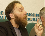 Александр Дугин на пресс-конференции