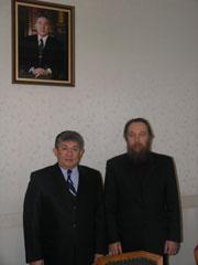 Встреча лидера Международного