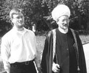В.Коровин и Талгат Таджуддин