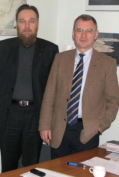 Философ Дугин и академик РАН Матишев