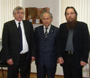 Владимир Нифадьев, Апас Джумагулов и Александр Дугин