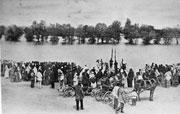Крестный ход белокриницких старообрядцев с Балаково