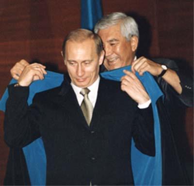 Евразийское Посвящение В.В.Путина