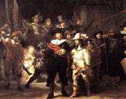 В поисках преемника: Рембрандт ''Ночной дозор'' (фрагмент)