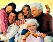 Резиновая семья