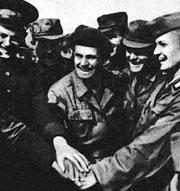 Как когда-то бойцы армий стран Варшавского Договора