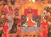 Чингисхан принимает сановников