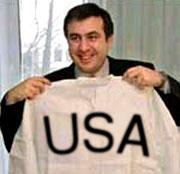 Политически Саакашвили сам по себе величина ничтожная, он сумел войти под покровительство очень мощной глобальной силы