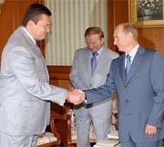 Путин, Кучма, Янукович